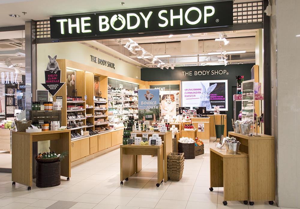 Kauppakeskus Sokkari - The Body Shop