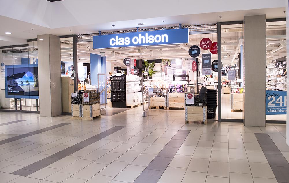 Kauppakeskus Sokkari - Clas Ohlson