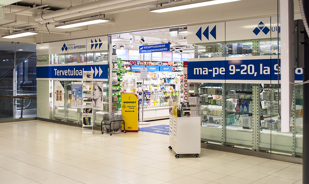 Kauppakeskus Sokkari - Jyväskylän Uusi Apteekki